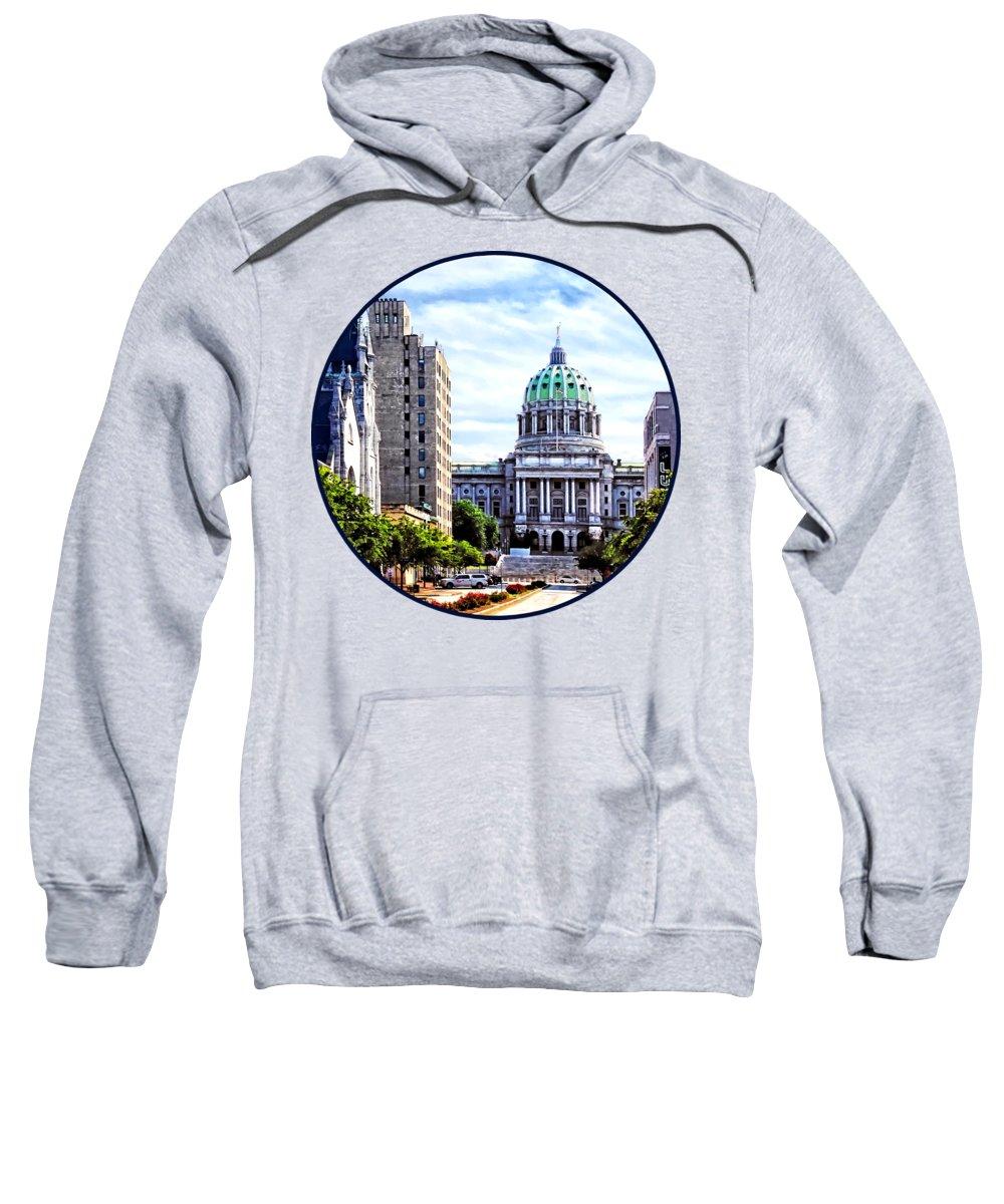 Capitol Building Hooded Sweatshirts T-Shirts