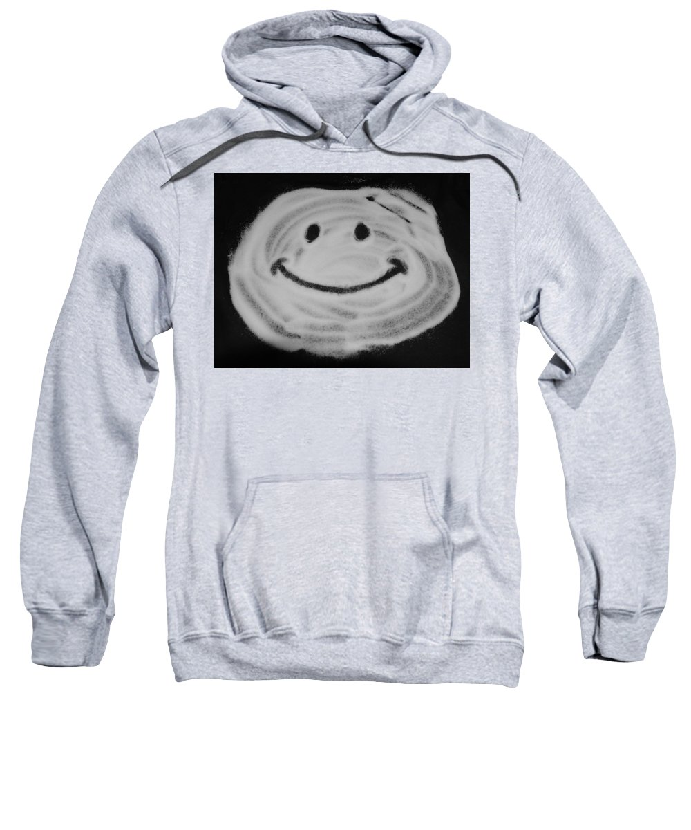 Black And White Sweatshirt featuring the photograph Have A Nice Day by Rob Hans