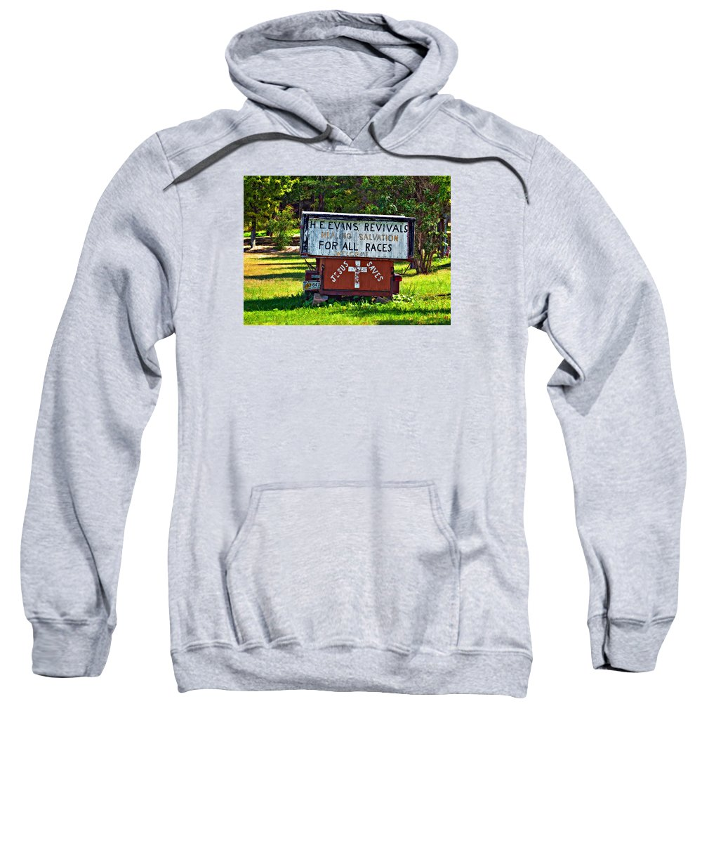 West Virginia Sweatshirt featuring the photograph Have Miracle - Will Travel 2 by Steve Harrington