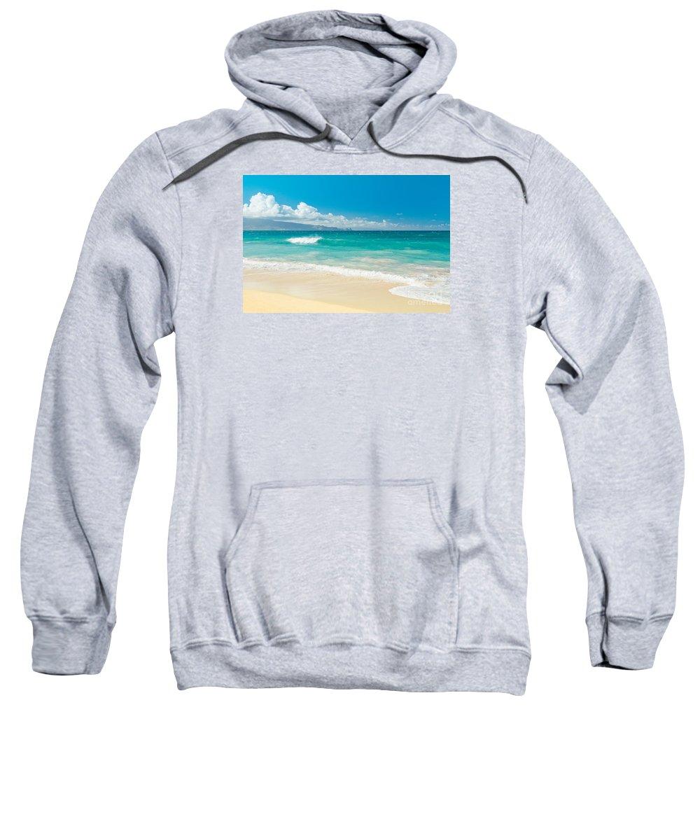 Beach Sweatshirt featuring the photograph Hawaii Beach Treasures by Sharon Mau