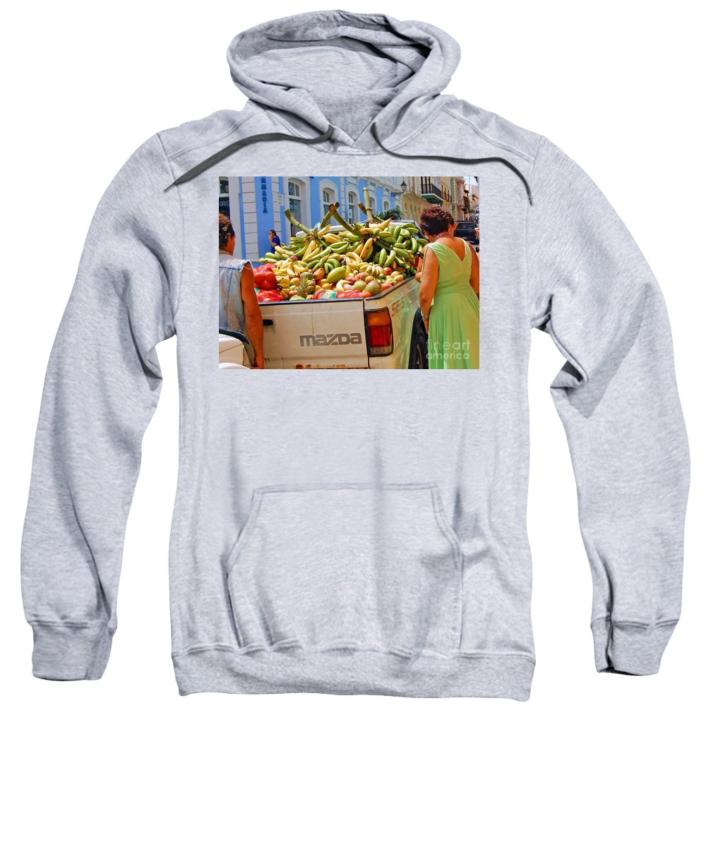 Fruit Sweatshirt featuring the photograph Healthy Fast Food by Debbi Granruth