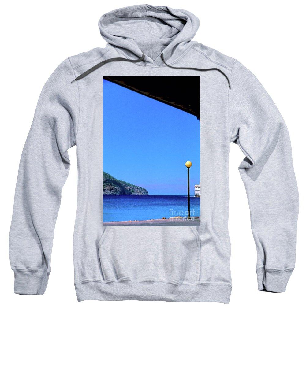 Hellenic Sweatshirt featuring the photograph Hellenic Dream by Silvia Ganora
