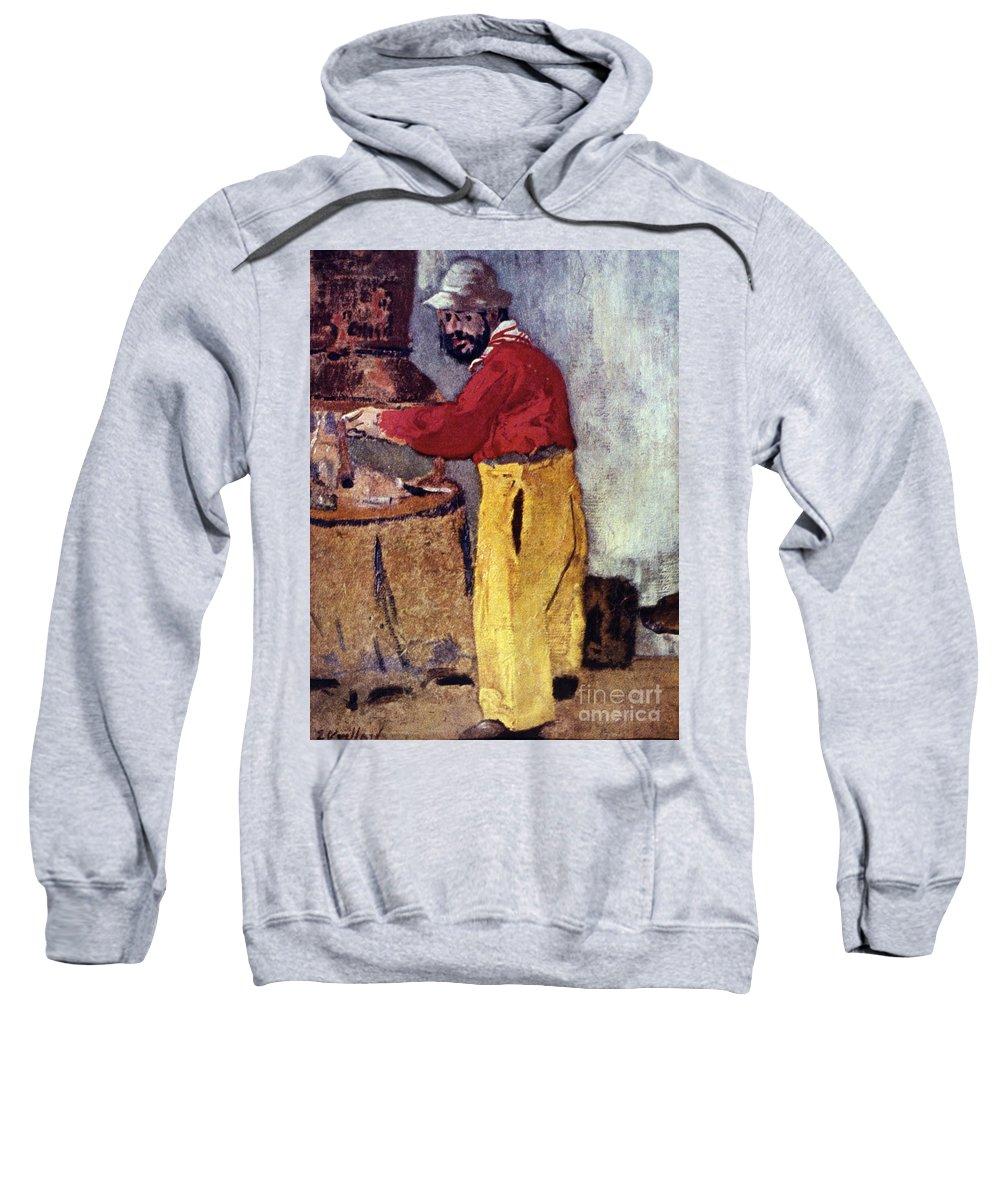 19th Century Sweatshirt featuring the photograph Henri De Toulouse-lautrec by Granger