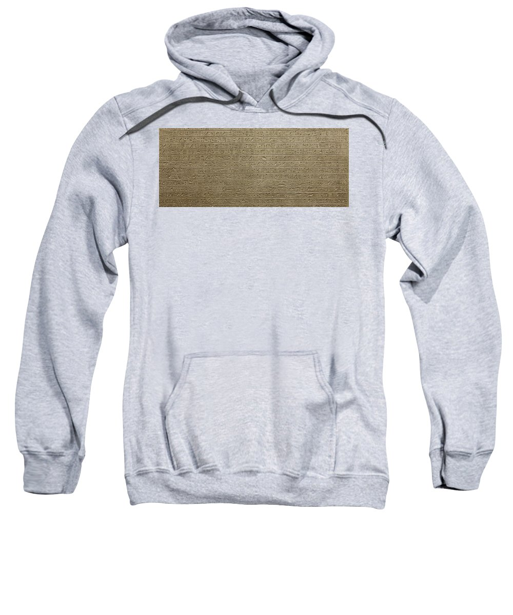 Africa Sweatshirt featuring the photograph Hieroglyph Iv by Paolo Modena