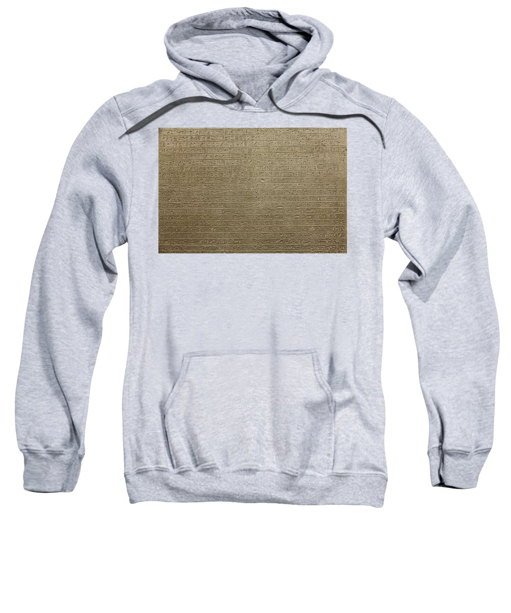 Africa Sweatshirt featuring the photograph Hieroglyph V by Paolo Modena