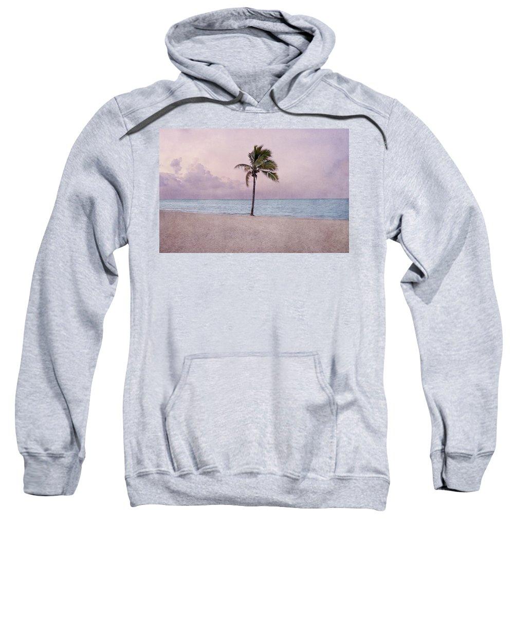 Higgs Beach Sweatshirt featuring the photograph Higgs Beach - Key West by Kim Hojnacki
