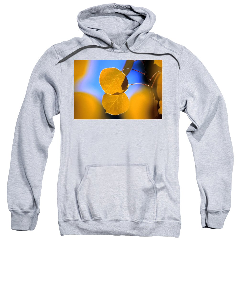 Aspen Sweatshirt featuring the photograph High Mountain Glory by Jerry McElroy