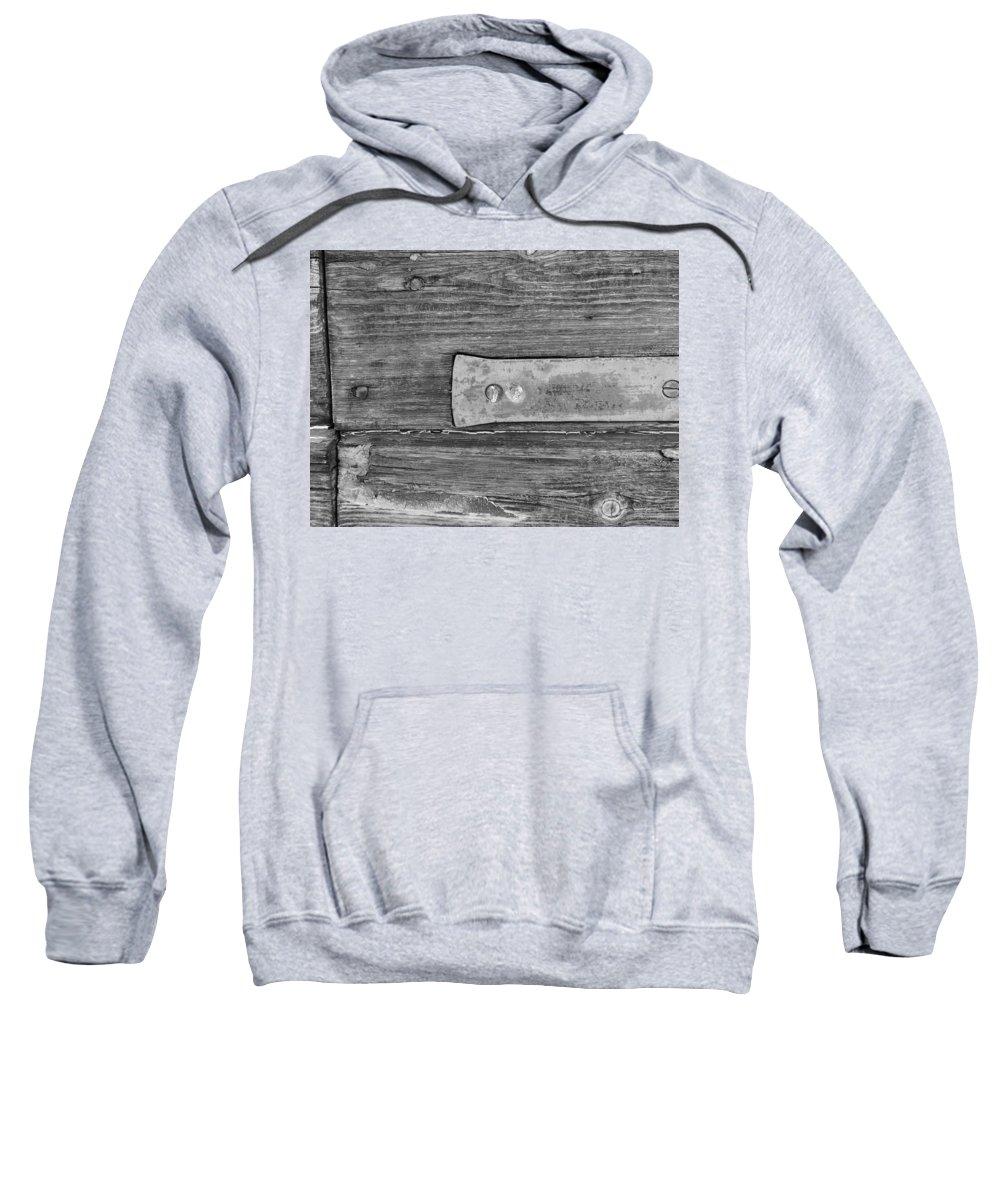 Photograph Sweatshirt featuring the photograph Hinge by Modern Art