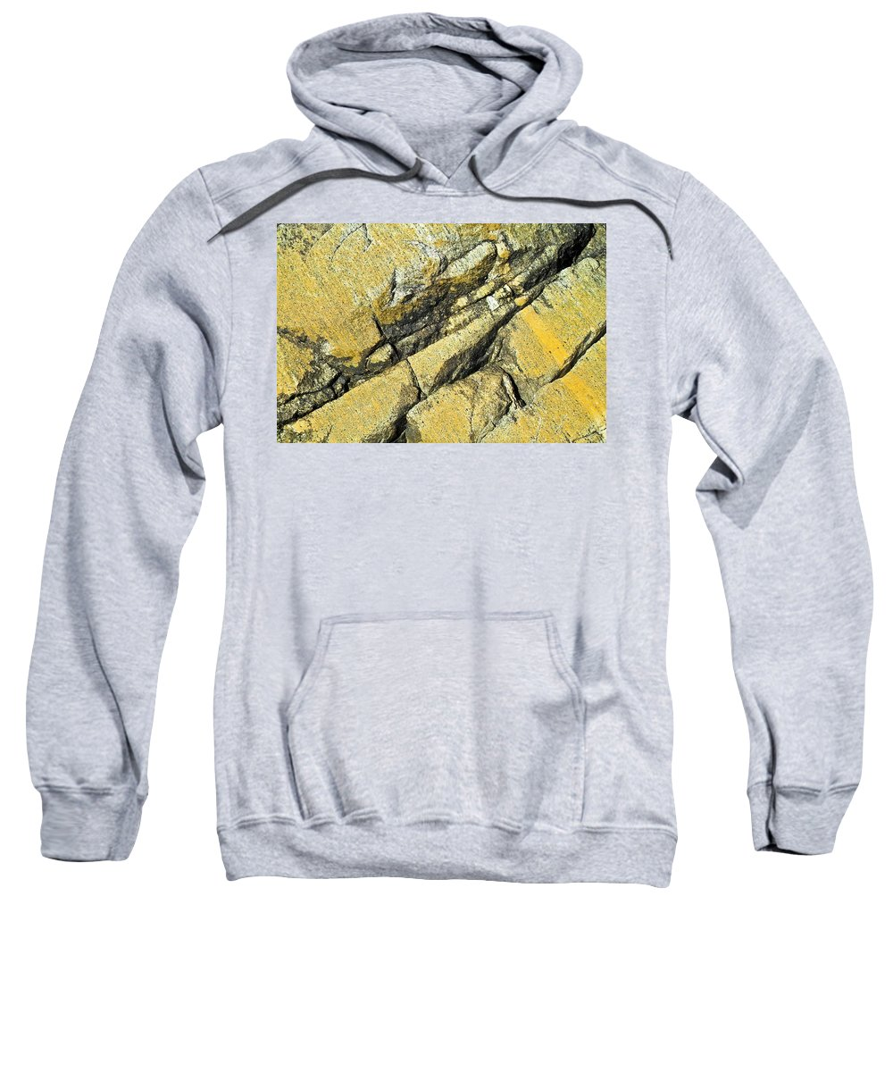 Nature Sweatshirt featuring the photograph History Of Earth 2 by Heiko Koehrer-Wagner