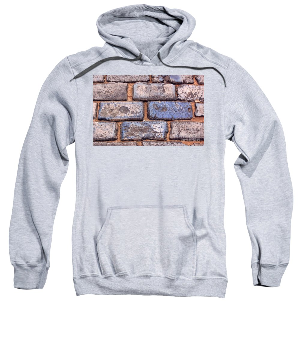 Street Sweatshirt featuring the photograph Hit The Bricks by Debbi Granruth