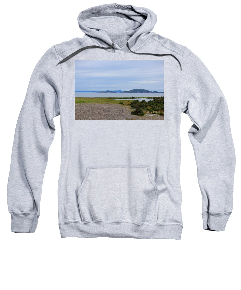 Barbara Griffin Sweatshirt featuring the photograph Hole In The Wall by Barbara Griffin