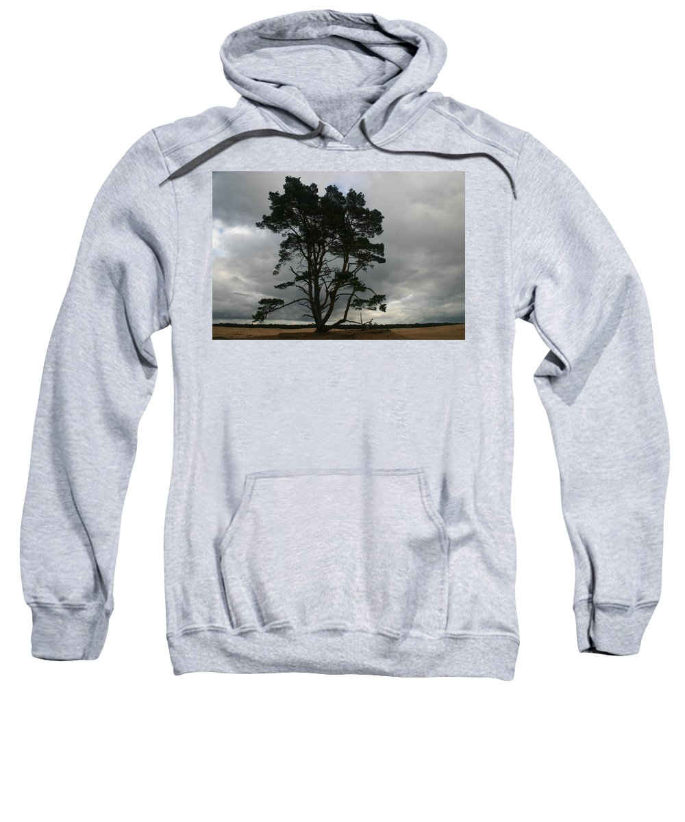 Storm Sweatshirt featuring the photograph Holland Desert by Minaz Jantz