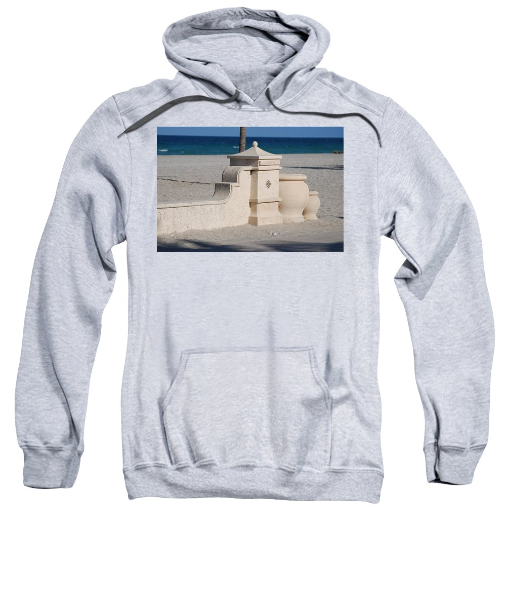 Beach Sweatshirt featuring the photograph Hollywood Beach by Rob Hans