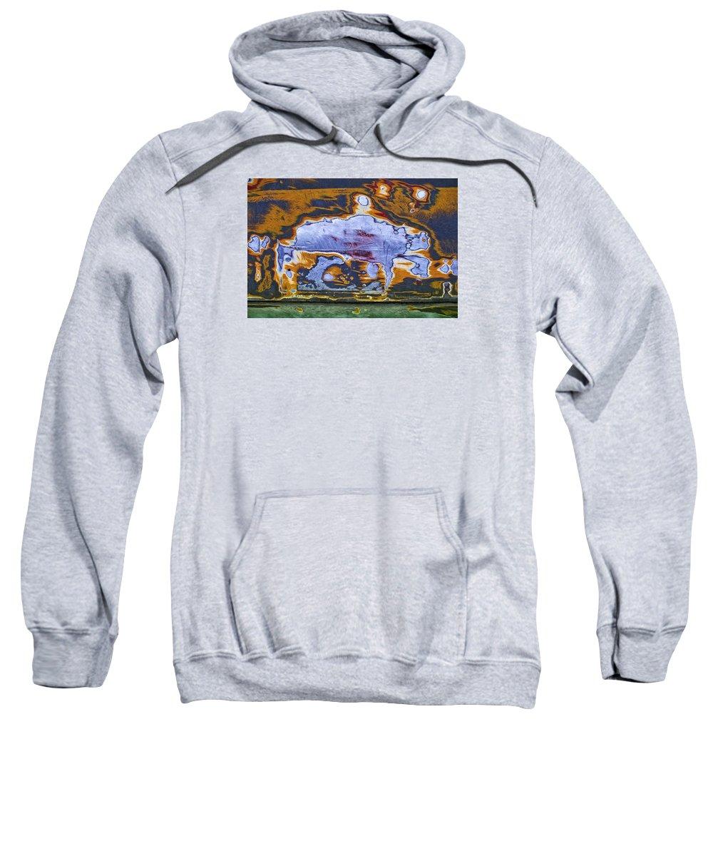 Imaginary Lands Sweatshirt featuring the digital art Home On Deranged by Becky Titus