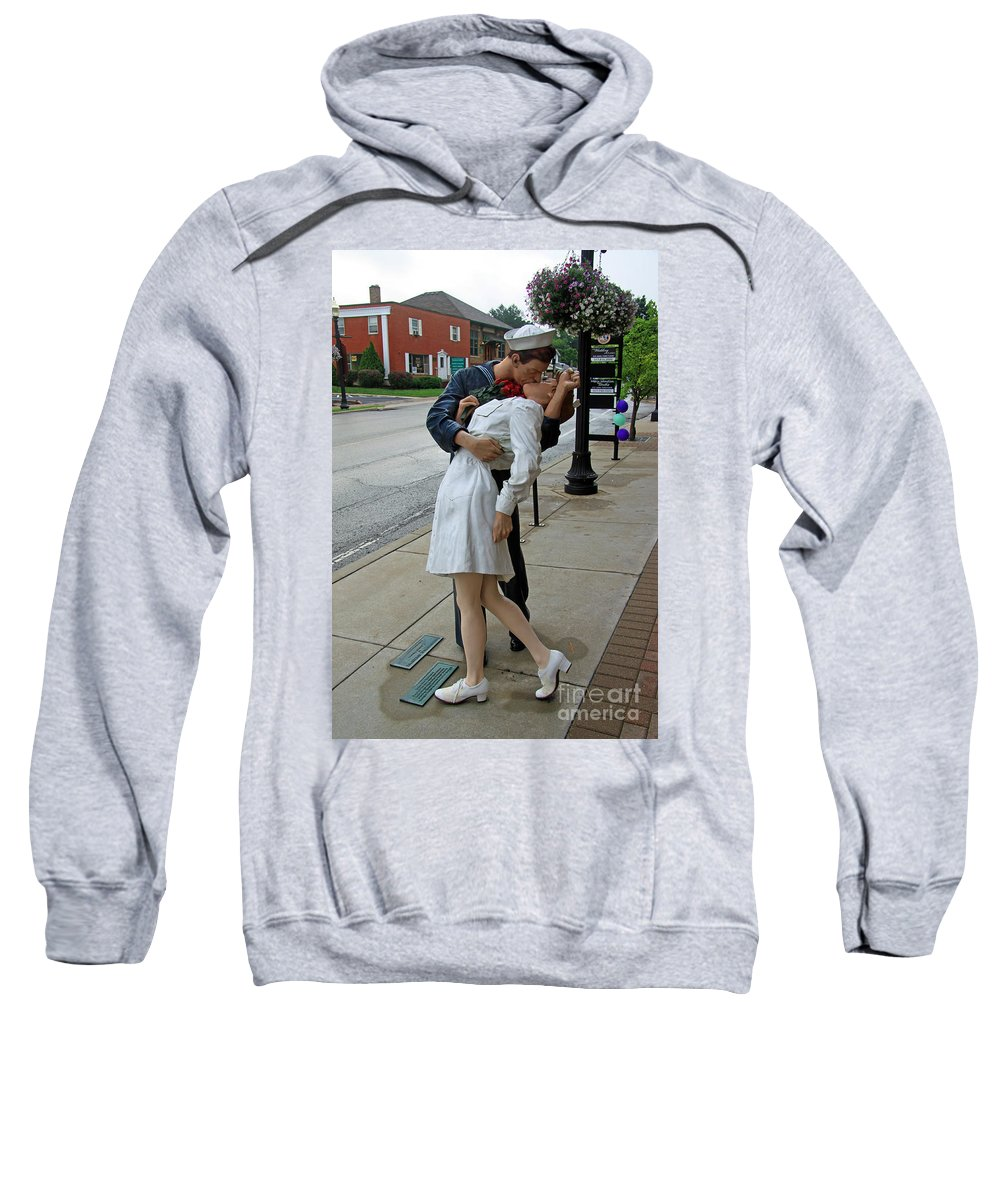 Carmel Sweatshirt featuring the photograph Homecoming by Steve Gass