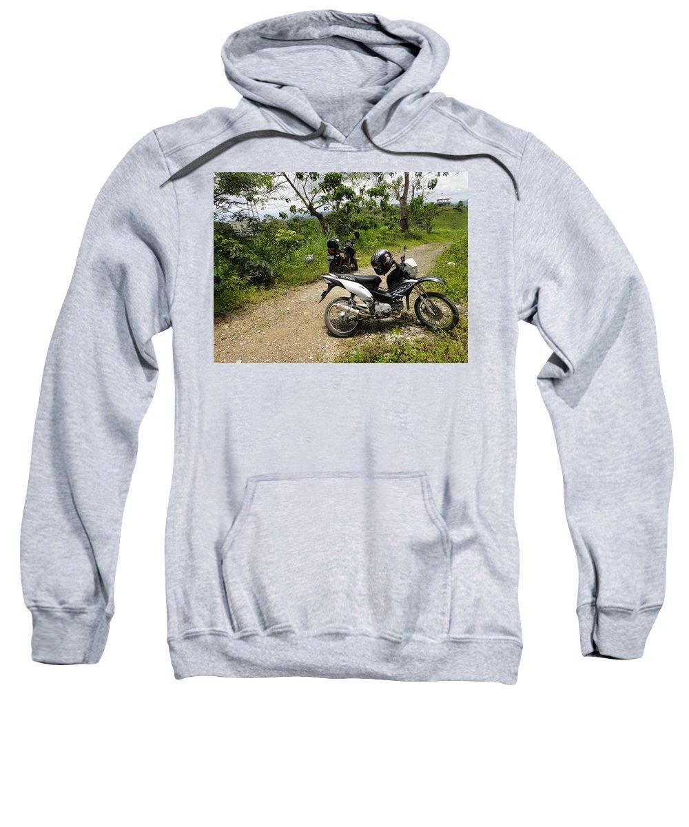 Honda Sweatshirt featuring the digital art Honda by Bert Mailer