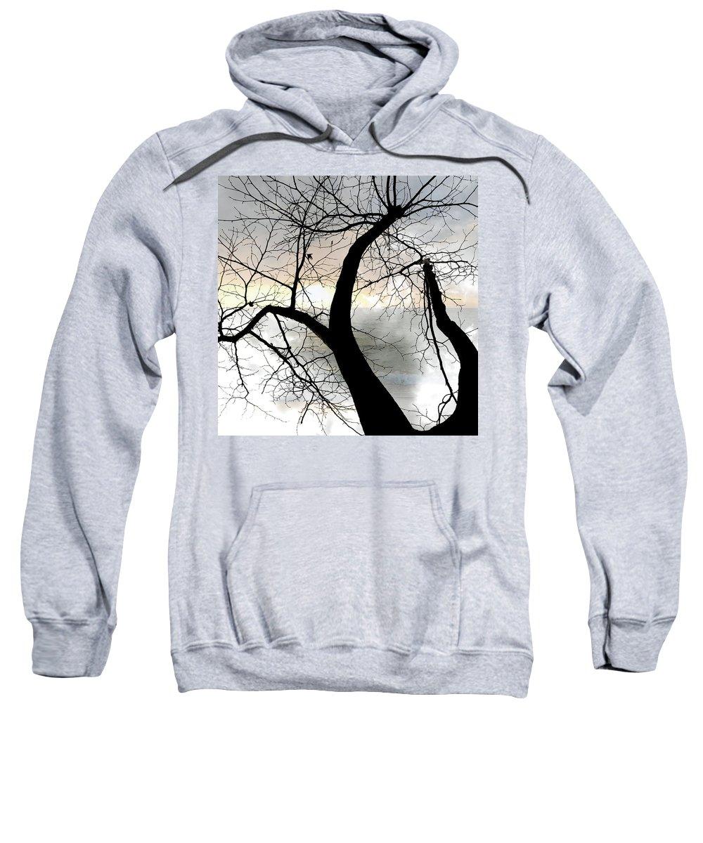 Tree Sweatshirt featuring the photograph Hope by Munir Alawi