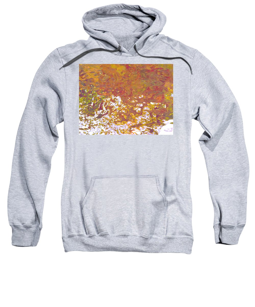 Abstract Sweatshirt featuring the photograph Forces Of Love Breaking Through by Sybil Staples