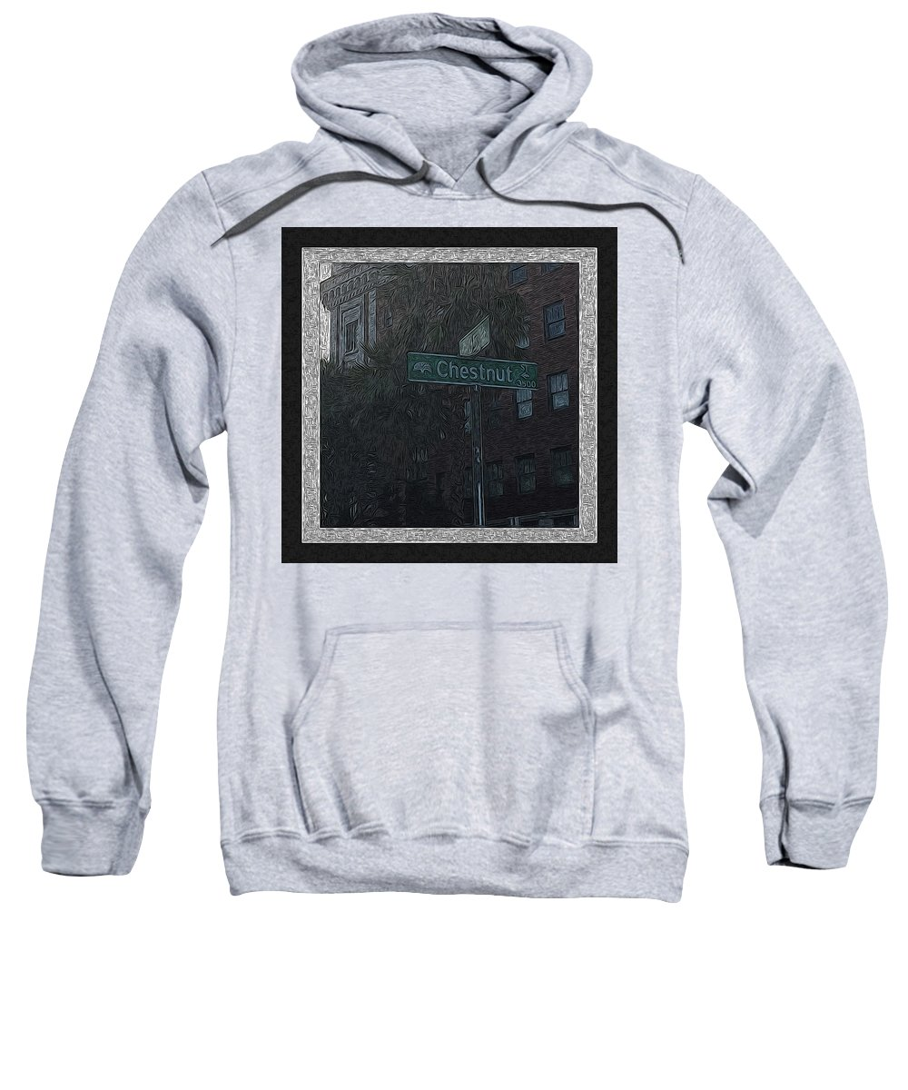 Art Sweatshirt featuring the photograph Hotel California by Ryan Fox