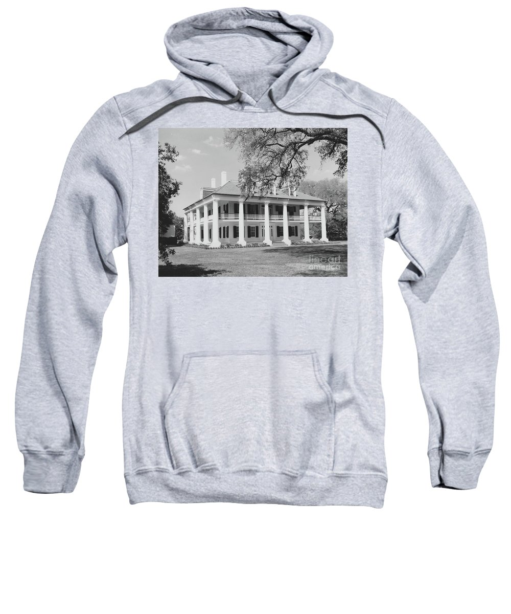 Plantation Homes Sweatshirt featuring the photograph Houmas House by Michelle Powell