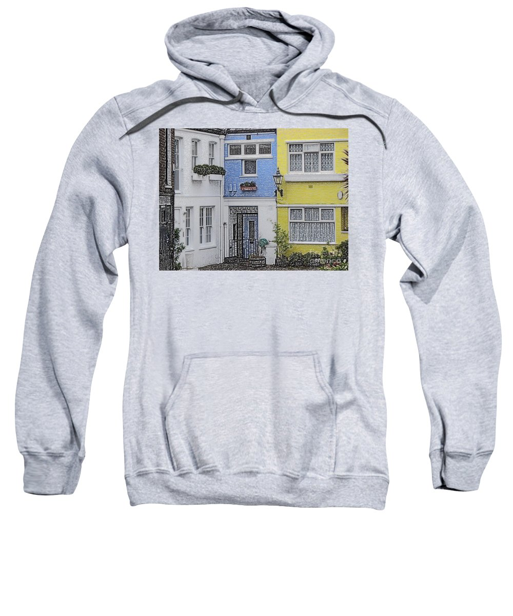 House Sweatshirt featuring the photograph Houses by Amanda Barcon