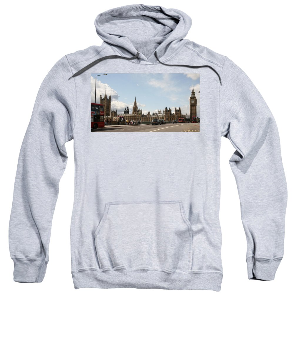 Big Sweatshirt featuring the photograph Houses Of Parliament. by Christopher Rowlands