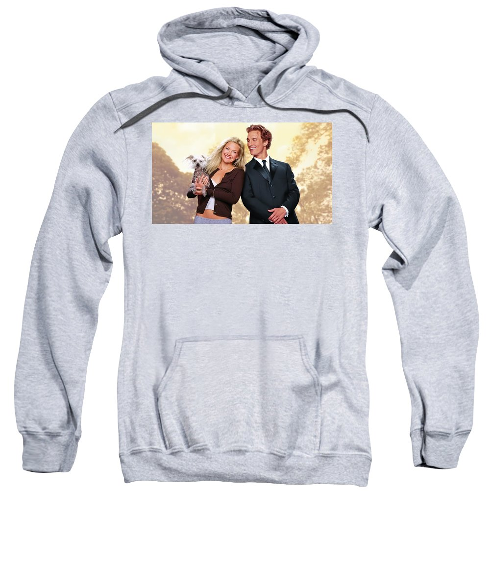How To Lose A Guy In 10 Days Sweatshirt featuring the digital art How To Lose A Guy In 10 Days by Bert Mailer