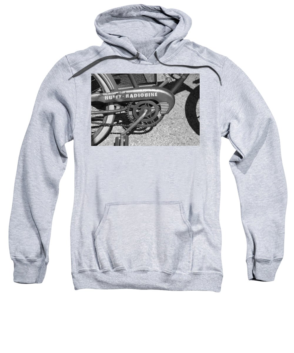 Huffy Sweatshirt featuring the photograph Huffy Radio Bike by Lauri Novak