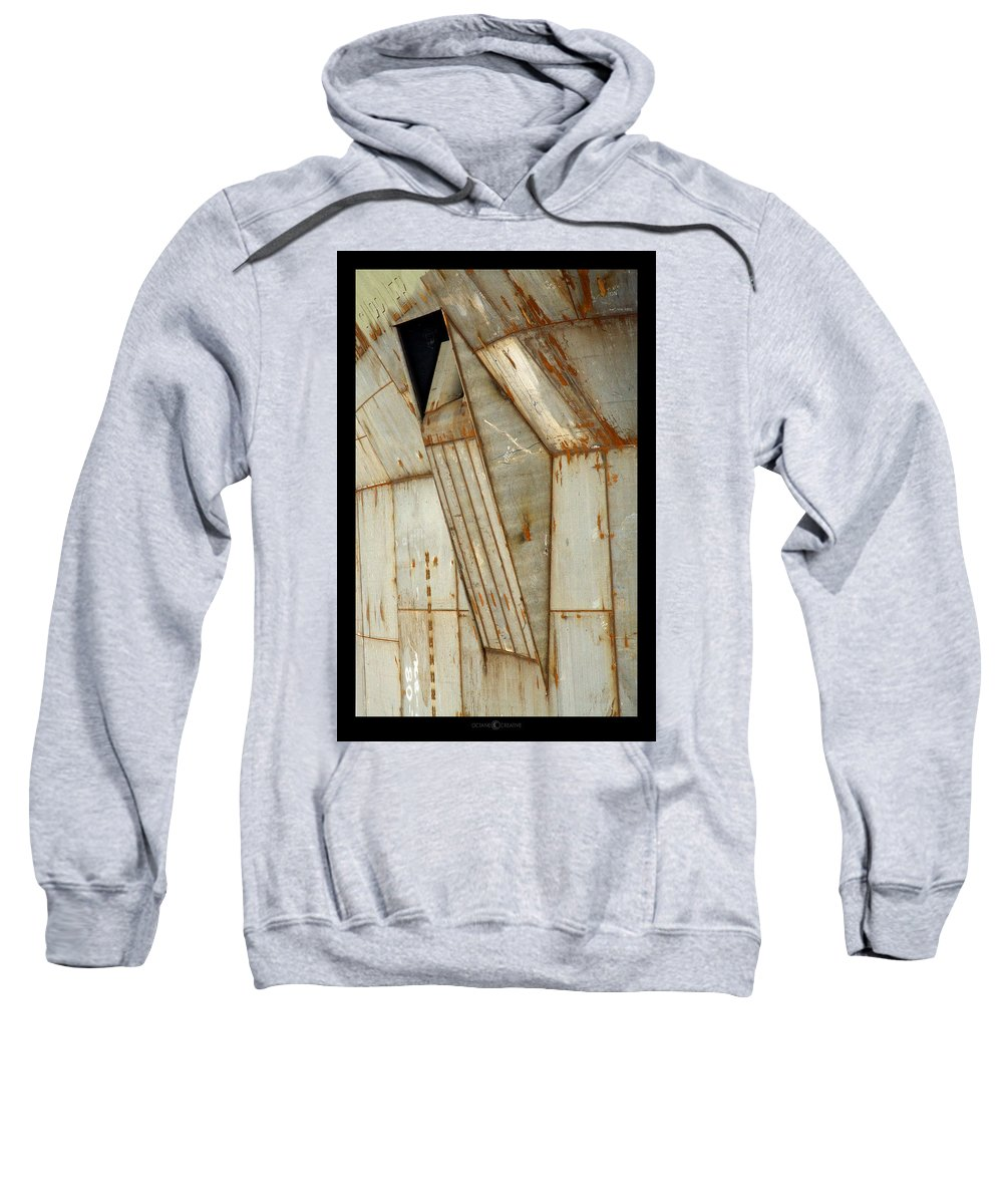 Hull Sweatshirt featuring the photograph Hull Detail by Tim Nyberg