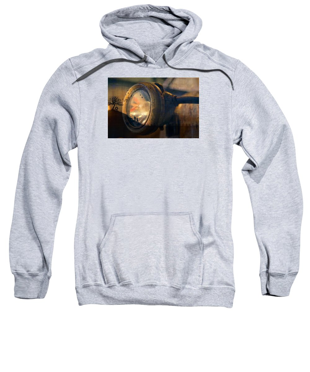 Art Photographs Sweatshirt featuring the photograph Human Soul With Knowledge by Nicole Frischlich