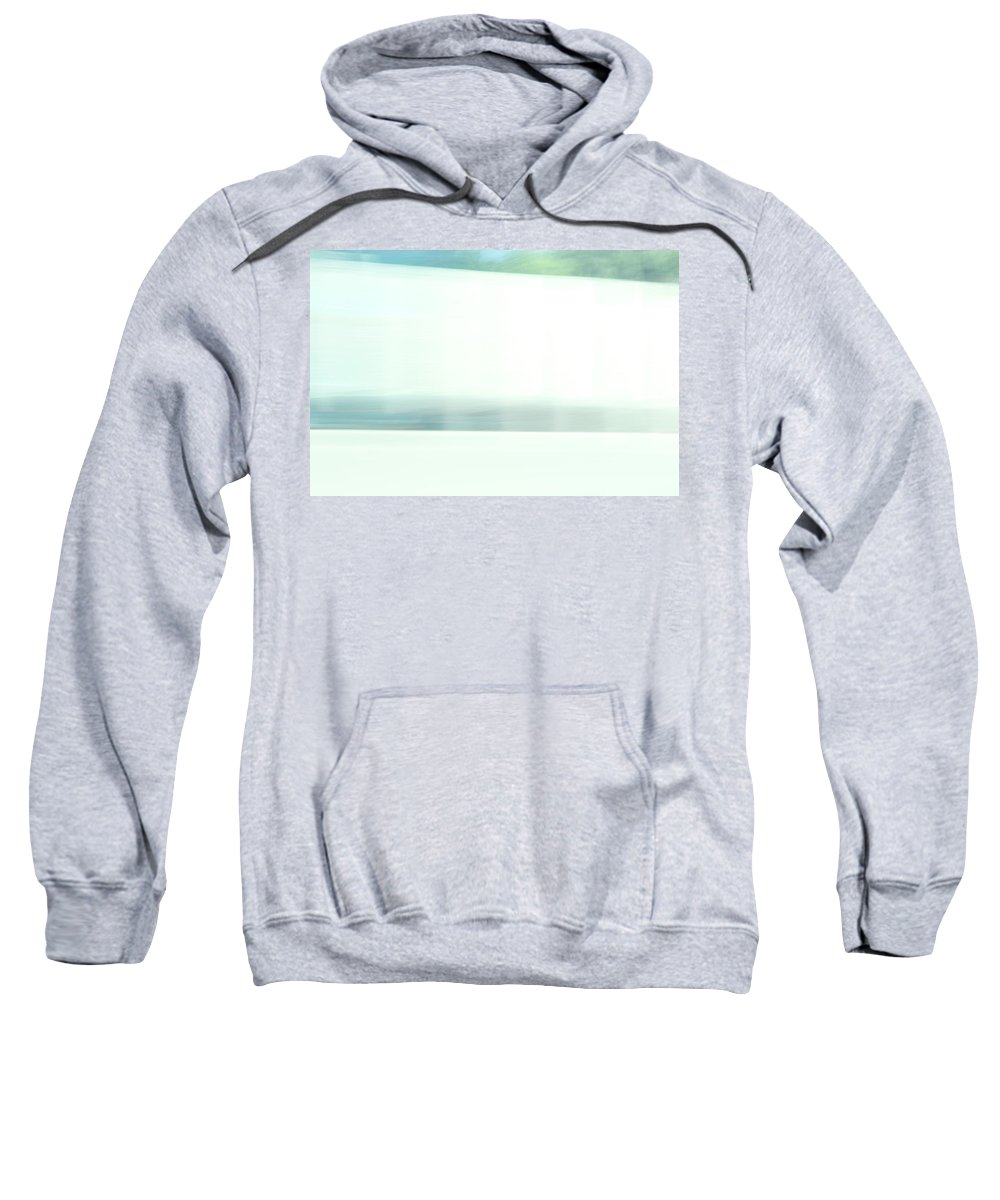 Sweatshirt featuring the photograph I-80 by Kevin Cote