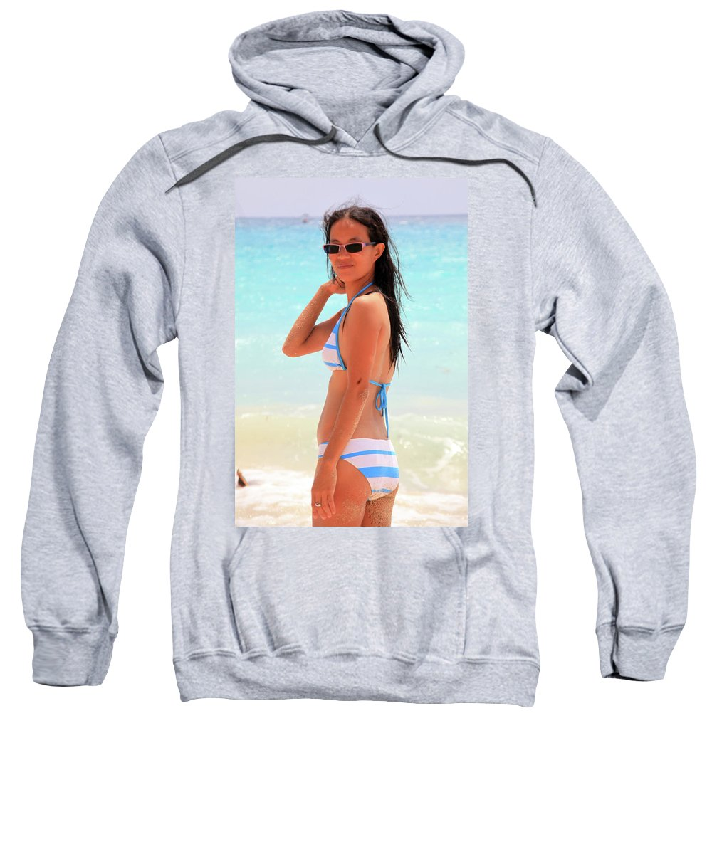 Mati Sweatshirt featuring the photograph I Am Not Gone by Jez C Self