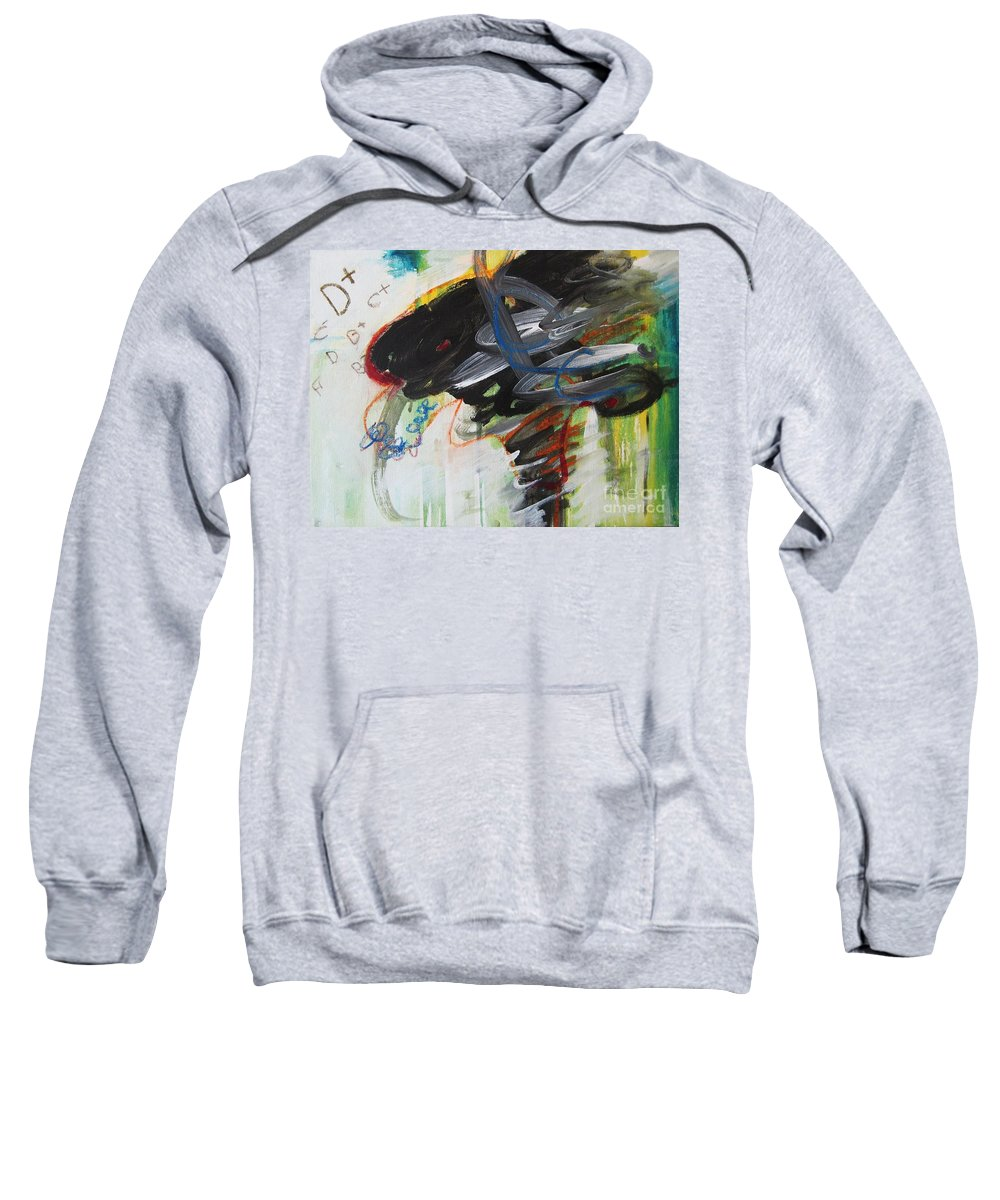 Abstract Paintings Paintings Abstract Art Paintings Sweatshirt featuring the painting I Got D by Seon-Jeong Kim
