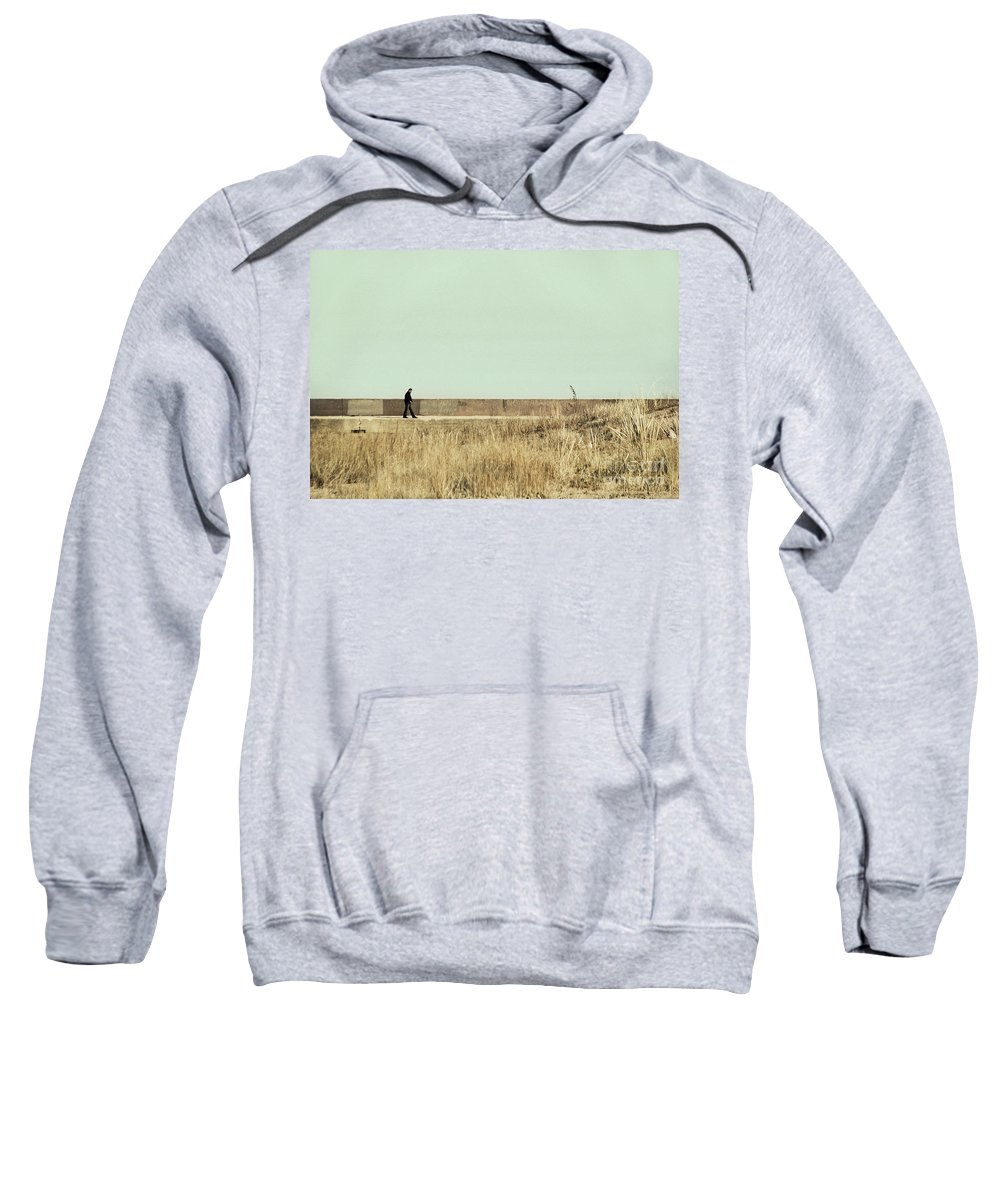 Dipasquale Sweatshirt featuring the photograph I Remember What We Said by Dana DiPasquale