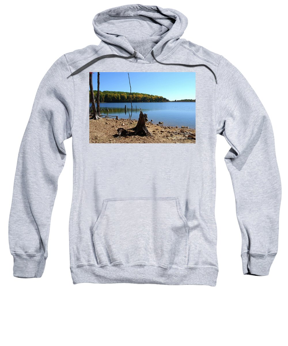 Waterscape Sweatshirt featuring the photograph I Used To Be A Tree by Lori Tambakis