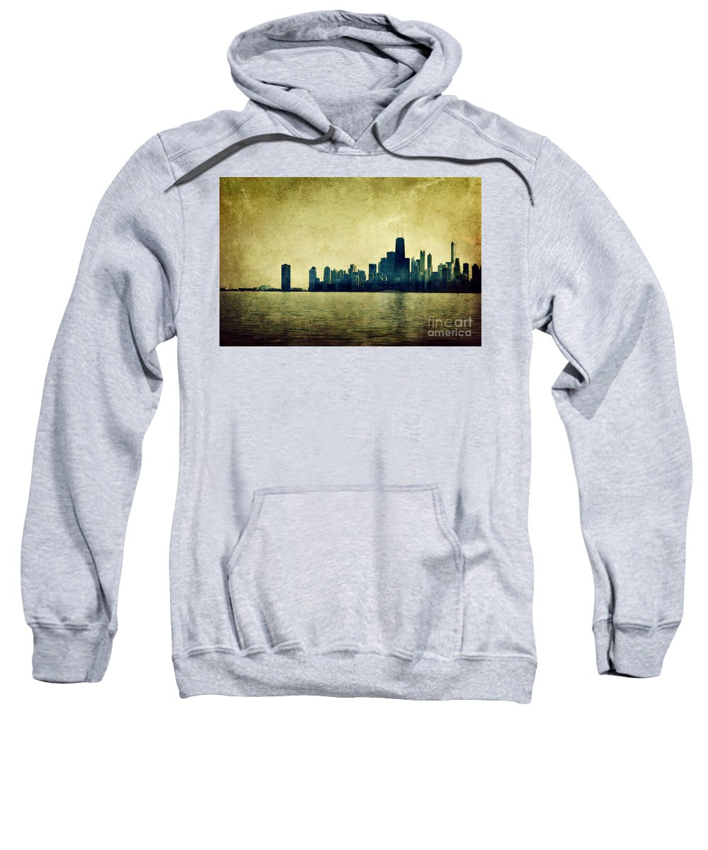 Dipasquale Sweatshirt featuring the photograph I Will Find You Down The Road Where We Met That Night by Dana DiPasquale