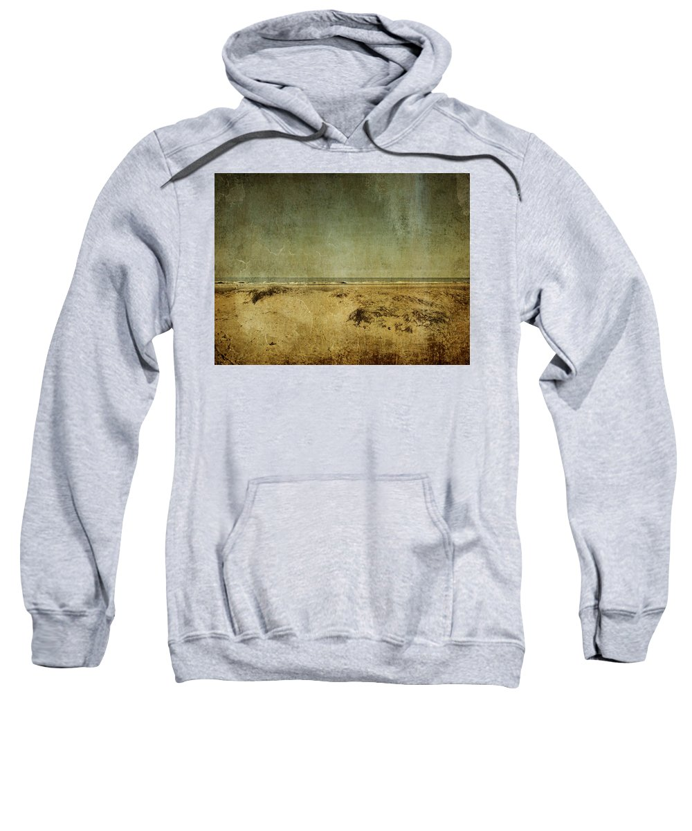 Beach Sweatshirt featuring the photograph I Wore Your Shirt by Dana DiPasquale