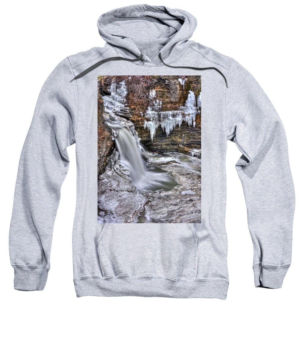 Ice Sweatshirt featuring the photograph Ice Breaker by Evelina Kremsdorf