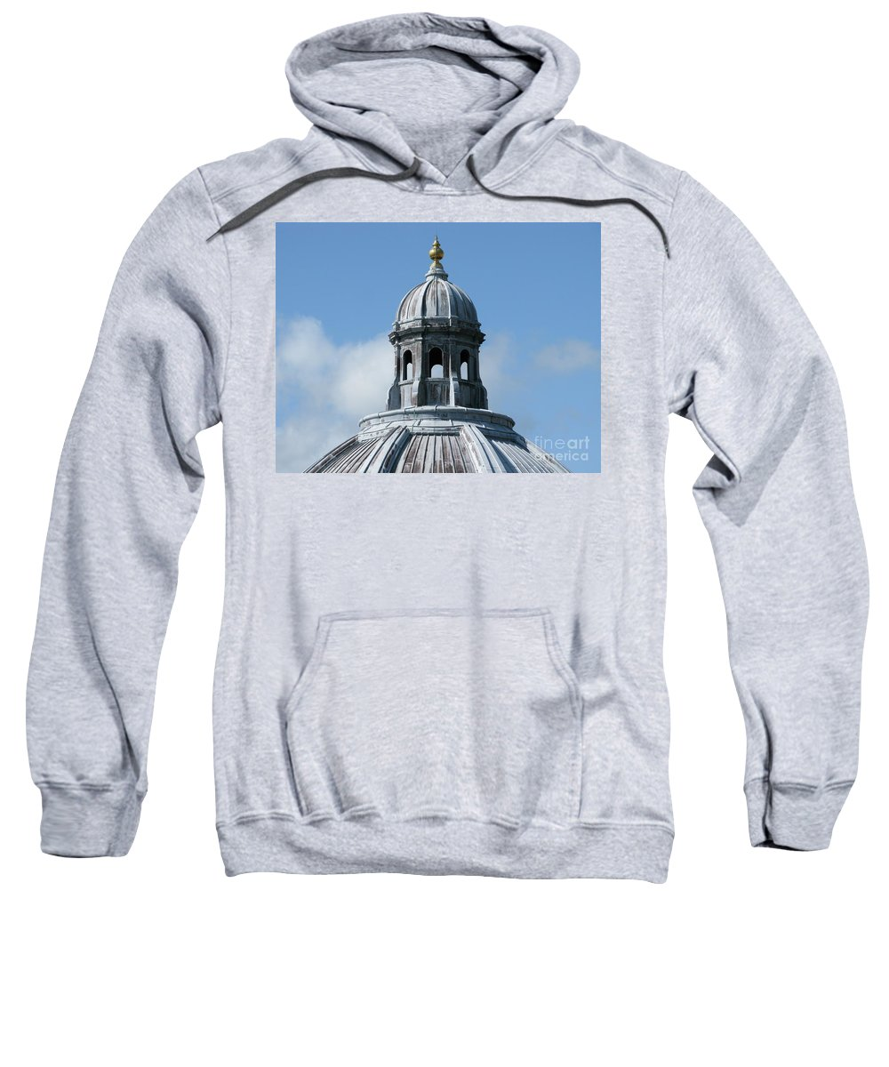 Oxford University Sweatshirt featuring the photograph Iconic Dome by Ann Horn