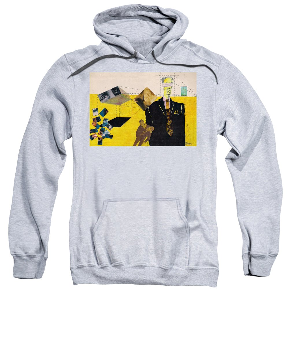 Idol Icon Conflict Lies Vicious Sweatshirt featuring the mixed media Idolatry by Veronica Jackson
