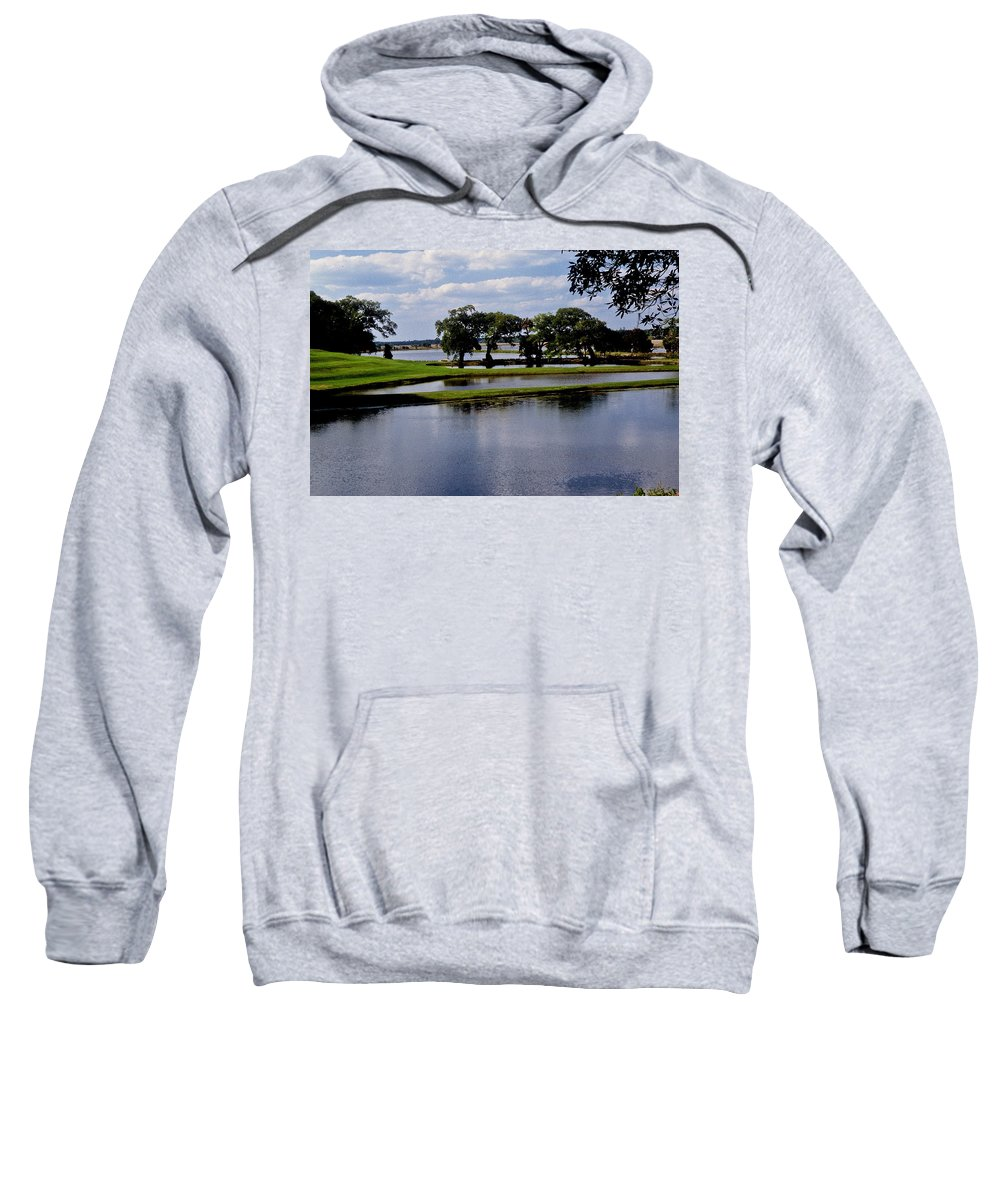Lake Sweatshirt featuring the photograph Charleston South Carolina by Gary Wonning
