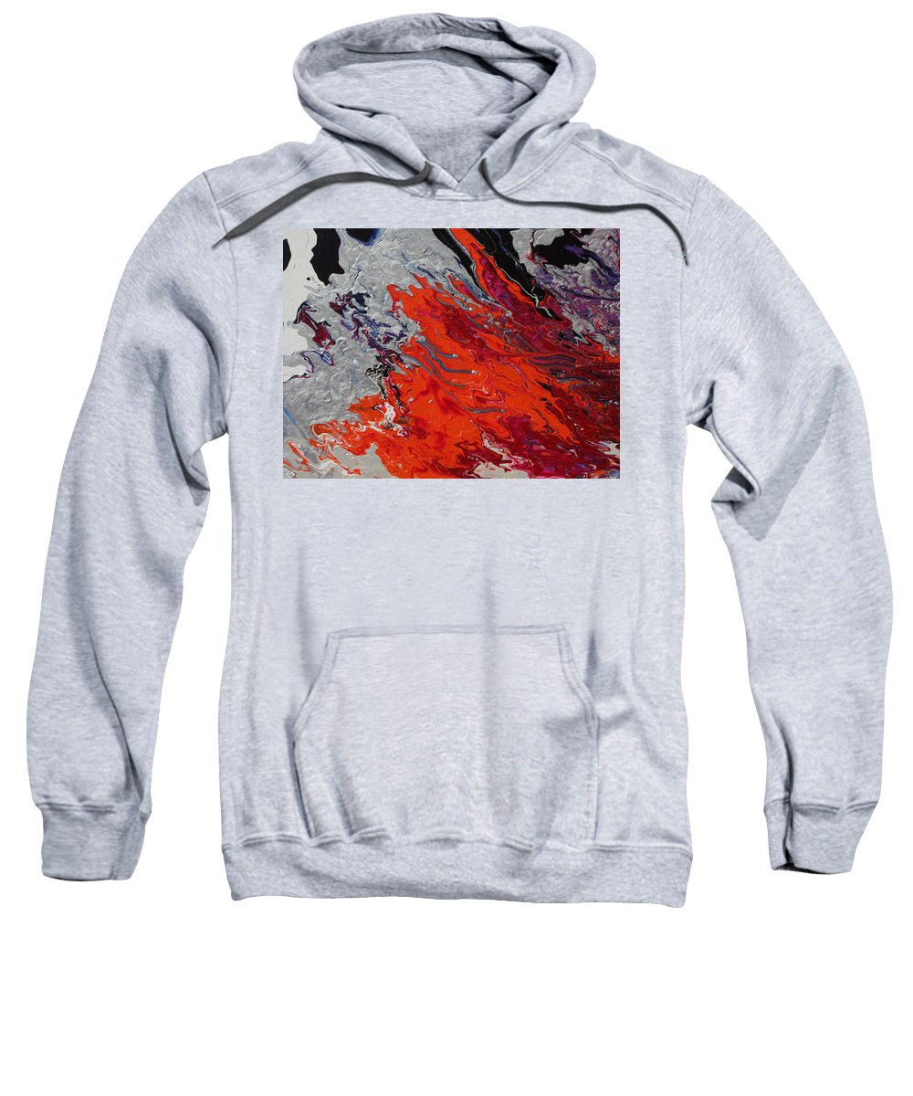 Fusionart Sweatshirt featuring the painting Ignition by Ralph White