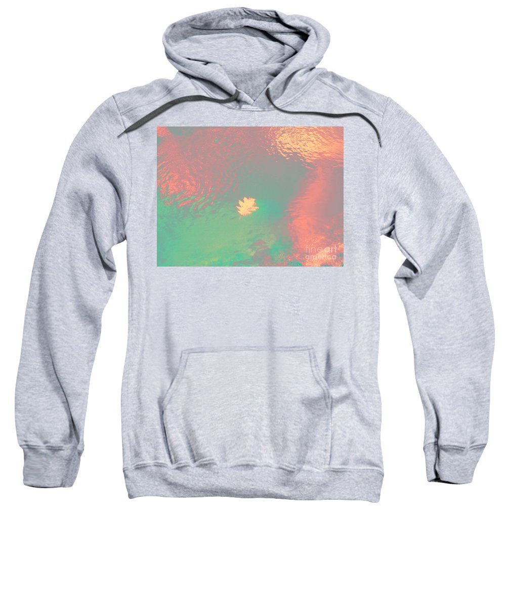 Abstract Sweatshirt featuring the photograph I'll Be There For You by Sybil Staples