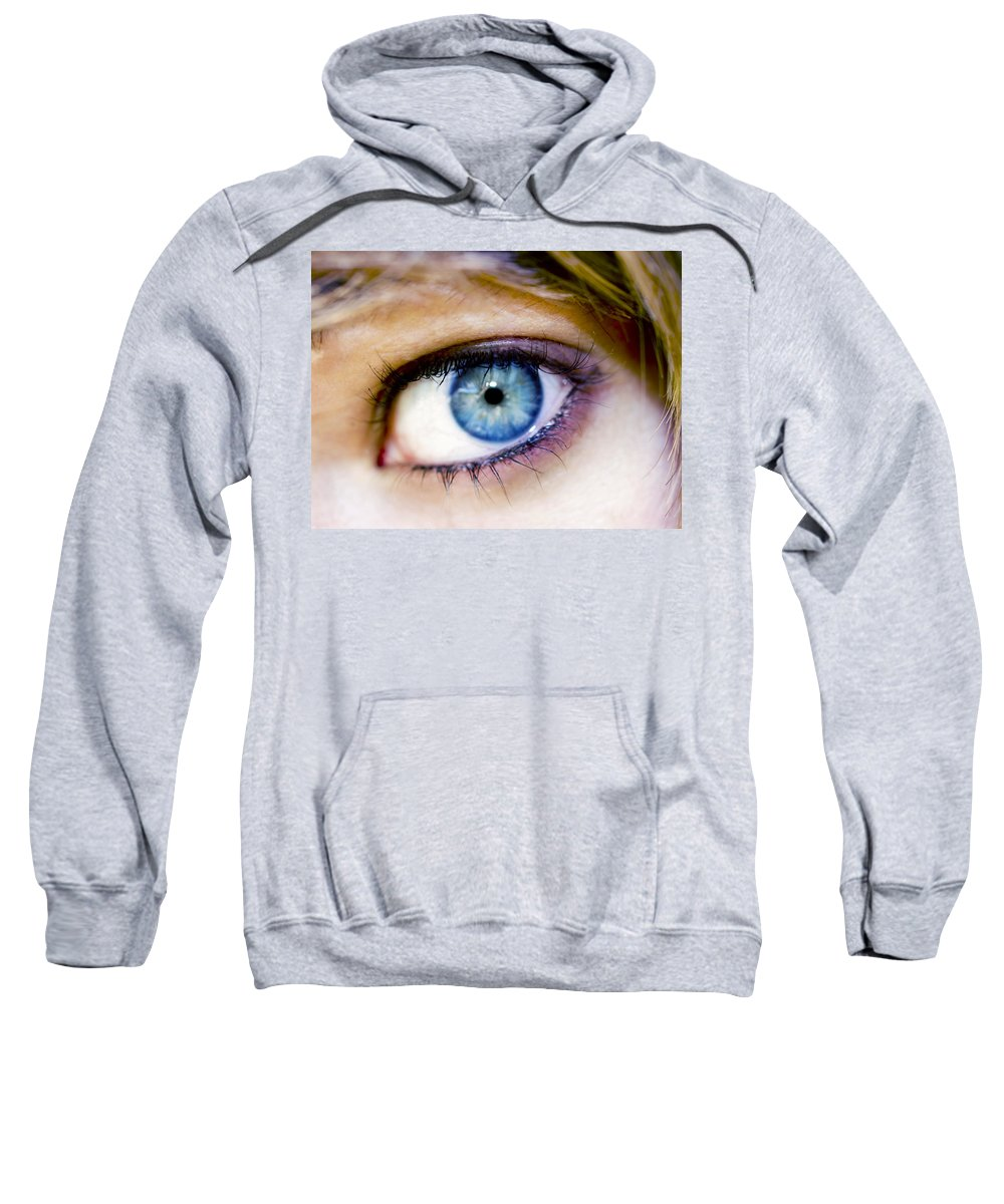 Eye Sweatshirt featuring the photograph Imagine by Kelly Jade King