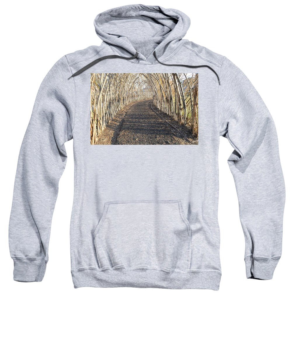 Sweatshirt featuring the photograph In A Haystack by Robert Epps