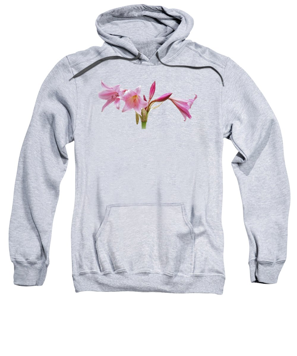 Pink Sweatshirt featuring the photograph In The Pink by Gill Billington
