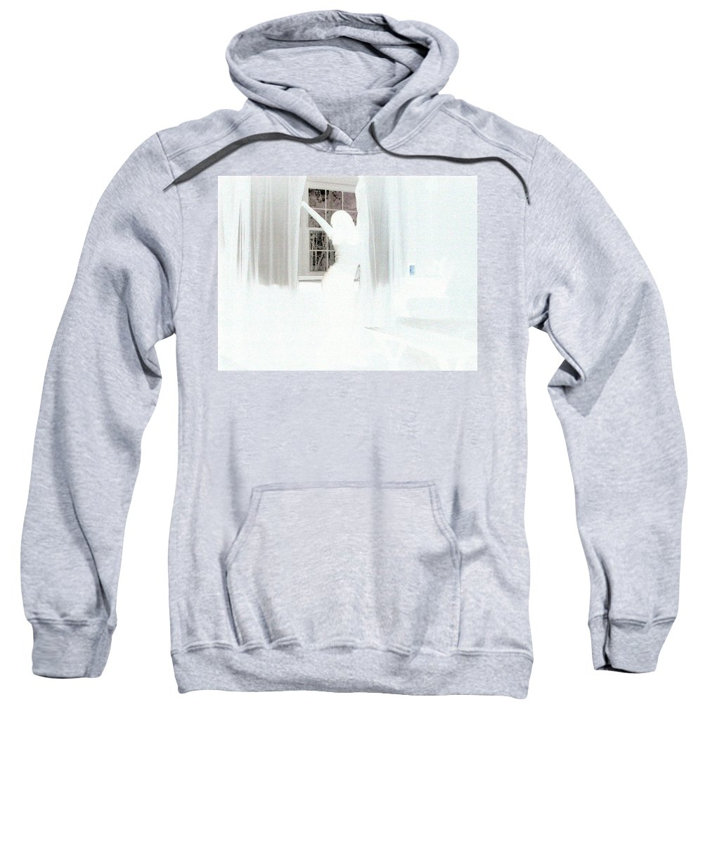 Sweatshirt featuring the photograph In The Shadows Curves by Sarah Greene