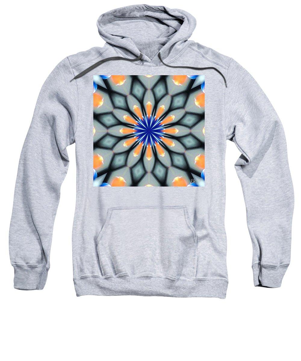 Kaleidoscope Sweatshirt featuring the photograph In The Sky With Diamonds by Lori Kingston