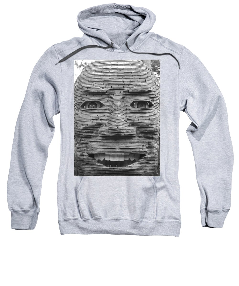 Architecture Sweatshirt featuring the photograph In Your Face by Rob Hans