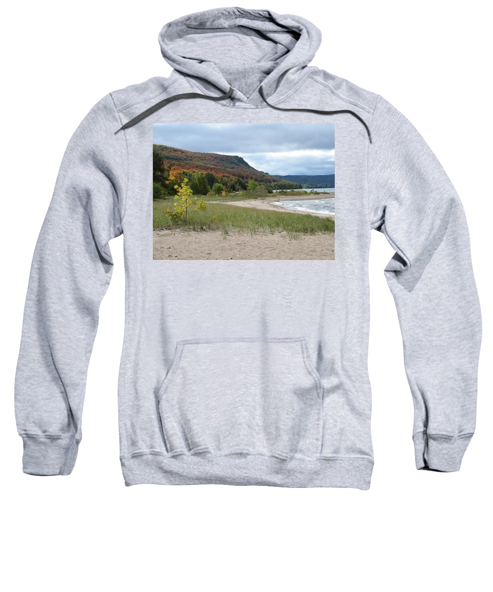 Beach Sweatshirt featuring the photograph Independence by Kelly Mezzapelle